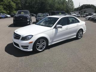 Used 2013 Mercedes-Benz C-Class C300 4Matic Sport Sedan for sale in Truro, NS