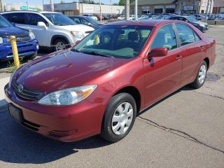Used 2004 Toyota Camry (SOLD) ***GREAT CONDITION/NO BODY RUST/ONLY 138 KMS*** for sale in Hamilton, ON