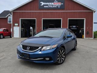 Used 2014 Honda Civic Sedan Touring Leather! Roof! Nav.! Backup cam! for sale in Dunnville, ON