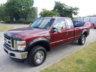 Used 2008 Ford F-250 SD XLT SuperCab 8 Foot Box 4WD Diesel for sale in Burnaby, BC