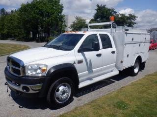 Used 2008 Dodge Ram 5500 Service Truck 2WD Dually Diesel for sale in Burnaby, BC