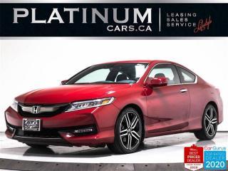 Used 2017 Honda Accord TOURING V6, NAV, CAM, HEATED SEATS, HONDA SENSE for sale in Toronto, ON