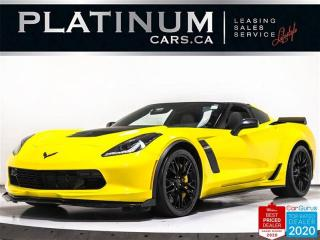 Used 2017 Chevrolet Corvette Z06 650HP, 3LZ, Z07 PKG, CERAMIC, HUD, NAV, CAM for sale in Toronto, ON
