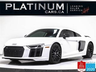 Used 2017 Audi R8 5.2 quattro V10 Plus, 610HP, NAV, CAM, AWD, CARBON for sale in Toronto, ON