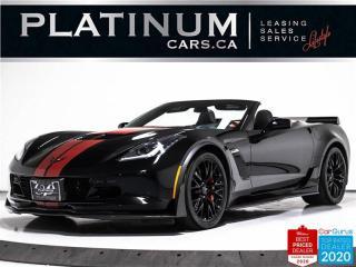 Used 2017 Chevrolet Corvette Z06 650HP, CONVERTIBLE, 3LZ, Z07 PKG, CARBON, NAV for sale in Toronto, ON