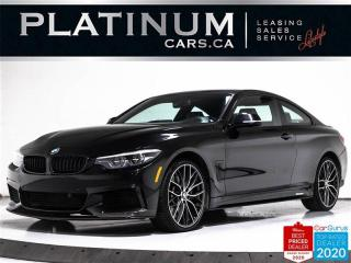 Used 2018 BMW 4 Series 440i xDrive, M-PERFORMANCE 1  2, EXHAUST, CARBON for sale in Toronto, ON