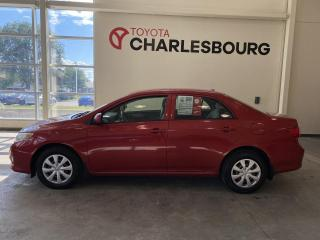 Used 2010 Toyota Corolla CE - MANUELLE for sale in Québec, QC