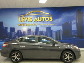 Used 2013 Nissan Sentra 93100KM AUTOMATIQUE AIR CLIMATISE BLUETO for sale in Lévis, QC
