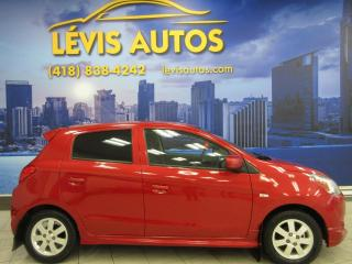 Used 2015 Mitsubishi Mirage SPORT MANUEL AIR CLIMATISÉ 56400 TOUT EQ for sale in Lévis, QC