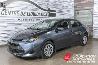 Used 2018 Toyota Corolla LE+GR. ELEC+A/C+CAM DE RECUL+BLUETOOTH for sale in Laval, QC