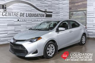 Used 2018 Toyota Corolla LE+GR/ELEC+A/C+CAM/REC+BLUETOOTH for sale in Laval, QC