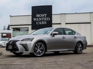 Used 2017 Lexus GS 350 PREMIUM|AWD|HUD|NAV|BLIND|LANE| for sale in Kitchener, ON