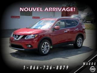 Used 2015 Nissan Rogue SL AWD + TOIT + NAV + BOSE + CAMERA! for sale in Magog, QC