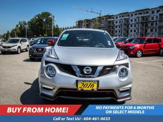Used 2016 Nissan Juke NISMO for sale in Port Moody, BC