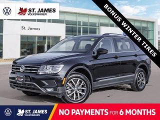 New 2020 Volkswagen Tiguan Comfortline, Clean Carfax, Panoramic Sunroof, Apple CarPlay for sale in Winnipeg, MB