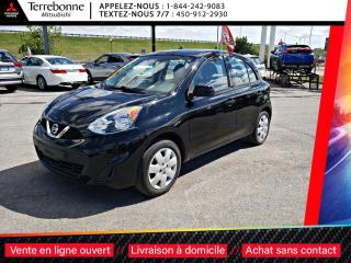 Used 2016 Nissan Micra S AUTOMATIQUE + AC + BLUETOOTH for sale in Terrebonne, QC