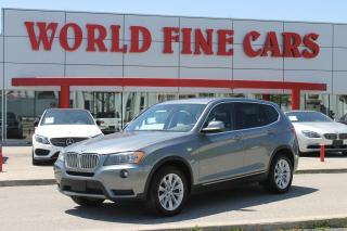 Used 2013 BMW X3 xDrive35i | One Owner! | *Accident Free* | xDrive AWD for sale in Etobicoke, ON