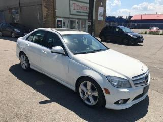 Used 2009 Mercedes-Benz C-Class RARE 6 SPD! NAV! NO ACCIDENTS! LOADED! for sale in Etobicoke, ON