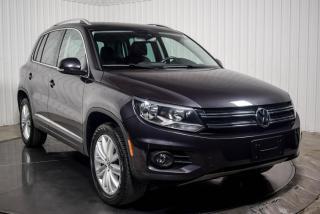 Used 2016 Volkswagen Tiguan HIGHLINE COMFORT 4MOTION CUIR BRUN TOIT for sale in St-Hubert, QC
