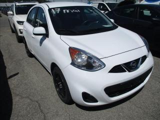 Used 2017 Nissan Micra S A/c for sale in St-Hubert, QC