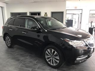 Used 2016 Acura MDX SH-AWD TECH PACKAGE for sale in Châteauguay, QC