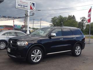 Used 2011 Dodge Durango Crew Plus for sale in Welland, ON