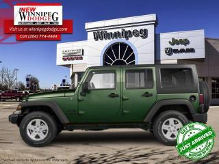 Used 2010 Jeep Wrangler Unlimited Sahara for sale in Winnipeg, MB