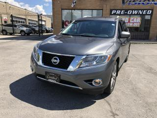 Used 2015 Nissan Pathfinder 4WD 4dr SL-PLATINUM-REAR TV-NAVI for sale in North York, ON