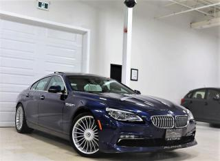 Used 2016 BMW 6 Series ALPINA B6 xDrive AWD GRAN COUPE 600HP FULLY LOADED for sale in North York, ON