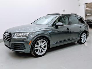 Used 2018 Audi Q7 TECHNIK/S LINE/BLACK OPTICS PKG/VENTILATED SEATS/7PASS! for sale in Toronto, ON