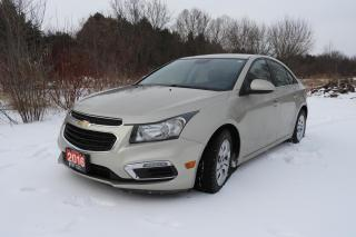 Used 2016 Chevrolet Cruze Limited 4dr Sdn LT w/1LT for sale in Bowmanville, ON