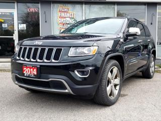 Used 2014 Jeep Grand Cherokee 4WD 4Dr Limited for sale in Bowmanville, ON
