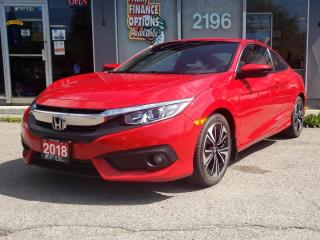 Used 2018 Honda Civic COUPE EX-T CVT w/Honda Sensing for sale in Bowmanville, ON