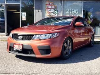 Used 2010 Kia Forte Koup 2dr Cpe Man EX for sale in Bowmanville, ON