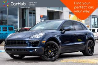 Used 2018 Porsche Macan BOSE Sound Panoramic Sunroof Navigation Memory Heated Ventilated Seats for sale in Thornhill, ON