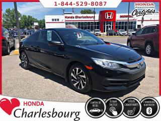 Used 2016 Honda Civic LX COUPE ***UN PROPRIÈTAIRE*** for sale in Charlesbourg, QC