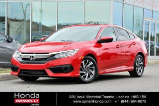 Used 2017 Honda Civic EX AUTO TOIT MAGS AC*AUTO*TOIT*CAMERA*BLUETOOTH*SIEGES CHAUFFANTS*++ for sale in Lachine, QC