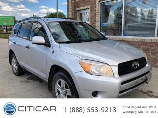 Used 2008 Toyota RAV4 2008 Toyota RAV4*4WD*MB Local*AFTMKT HTD SEATS for sale in Winnipeg, MB