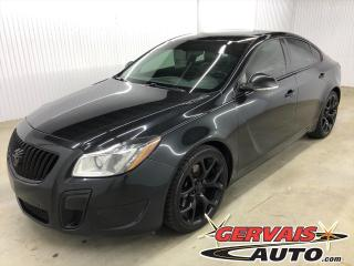 Used 2012 Buick Regal GS w/1SX TURBO MAGS CUIR TOIT for sale in Trois-Rivières, QC