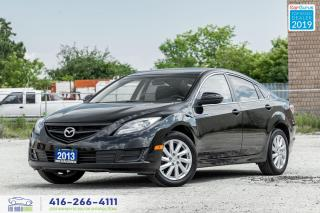 Used 2013 Mazda MAZDA6 GS-No Accidents-Sunroof-Low KMS-Alloy wheels for sale in Bolton, ON
