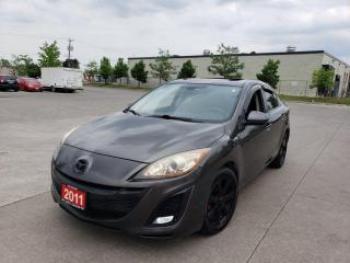 Used 2011 Mazda MAZDA3 4 Door, Auto, Sunroof, 3/Y warranty available for sale in Toronto, ON