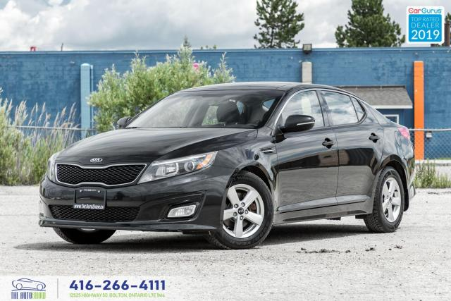 2015 Kia Optima LX-Sunroof-Alloy Wheels-