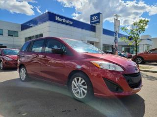 Used 2014 Mazda MAZDA5 GS AUTO 7 PASS/AC/HEATEDSEATS/ for sale in Edmonton, AB