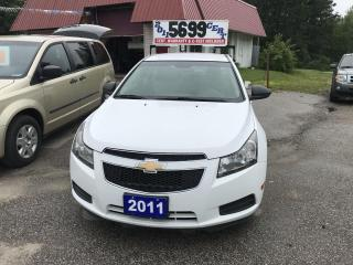 Used 2011 Chevrolet Cruze LS+ w/1SB for sale in Oro Medonte, ON