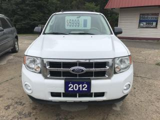 Used 2012 Ford Escape XLT for sale in Oro Medonte, ON