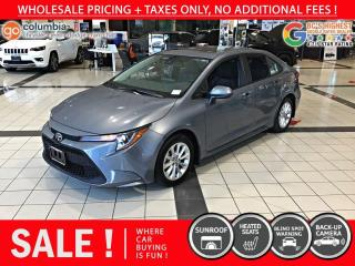 Used 2020 Toyota Corolla LE - Accident Free / Local / Sunroof for sale in Richmond, BC