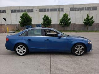 Used 2009 Audi A4 Auto, 4 door, Low k, Leather, Roof, Warranty avail for sale in Toronto, ON