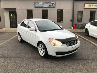 Used 2008 Hyundai Accent 4dr Sdn Auto,NO ACCIDENTS! CERTIFIED ! WARRANTY ! for sale in Burlington, ON