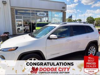 Used 2016 Jeep Cherokee Limited for sale in Saskatoon, SK