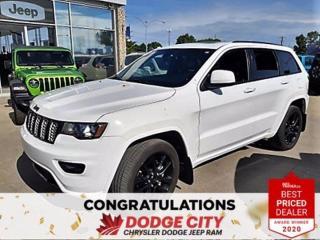 Used 2017 Jeep Grand Cherokee Altitude for sale in Saskatoon, SK